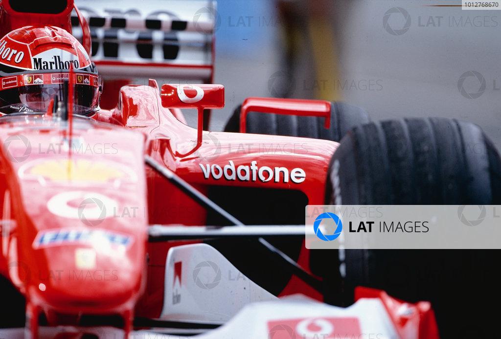 2002 Hungarian Grand Prix.