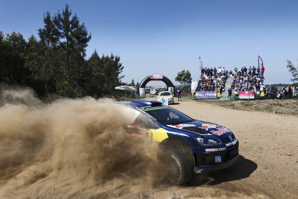Jari-Matti Latvala (FIN) / Miikka Anttila (FIN), Volkswagen Polo R WRC at World Rally Championship, Rd5, Rally Portugal, Day Three, Matosinhos, Portugal, 24 May 2015.