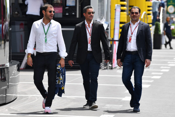 Salman bin Isa Al Khalifa (BRN) Chief Executive of Bahrain International Circuit