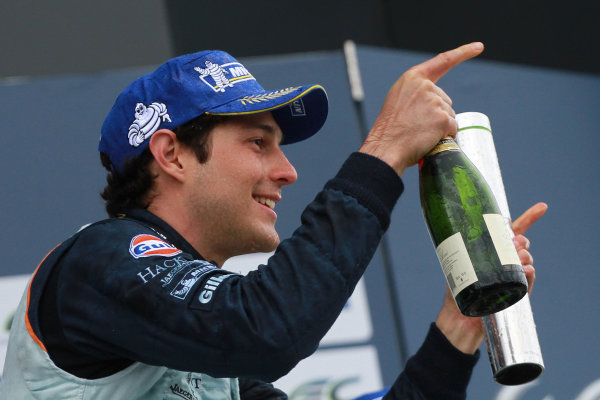 2013 FIA WEC Championship, Silverstone, Northamptonshire. 12th - 14th April 2013. Bruno Senna () World Copyright: Ebrey / LAT Photographic.