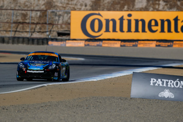 IMSA Continental Tire SportsCar Challenge Mazda Raceway Laguna Seca 240 Mazda Raceway Laguna Seca Monterey, CA USA Friday 22 September 2017 31, Porsche, Porsche Cayman, ST, Drake Kemper, Devin Jones World Copyright: Jake Galstad LAT Images