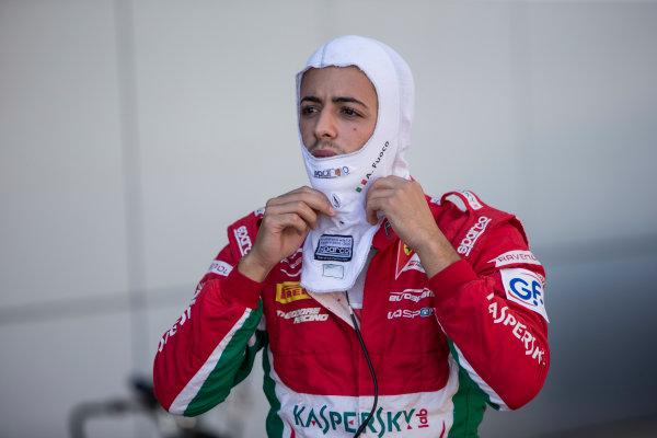 2017 FIA Formula 2 Round 10. Circuito de Jerez, Jerez, Spain. Friday 6 October 2017. Antonio Fuoco (ITA, PREMA Racing).  Photo: Andrew Ferraro/FIA Formula 2. ref: Digital Image _FER0469