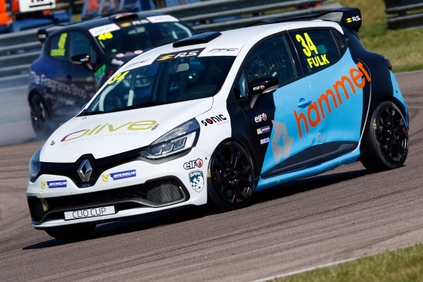 Renault Clio Cup Rockingham, 26th-27th August 2017, Zak Fulk Team Pyro World copyright.. JEP/LAT Images
