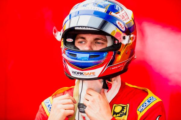 2017 FIA Formula 2 Round 9. Autodromo Nazionale di Monza, Monza, Italy. Friday 1 September 2017. Gustav Malja (SWE, Racing Engineering).  Photo: Zak Mauger/FIA Formula 2. ref: Digital Image _56I6275