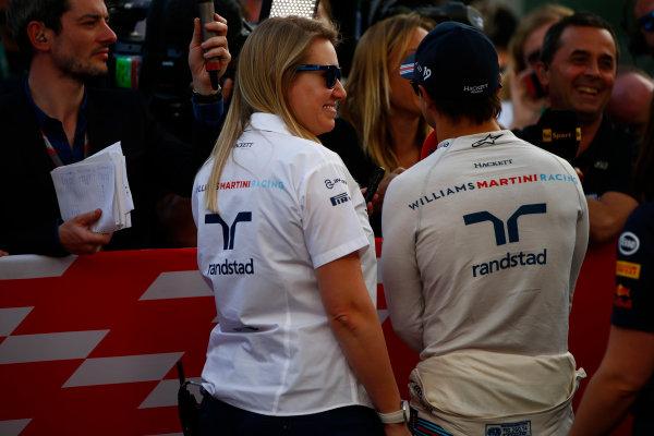 Sochi Autodrom, Sochi, Russia. Saturday 29 April 2017. Felipe Massa, Williams Martini Racing.  World Copyright: Hone/LAT Images ref: Digital Image _ONZ1228