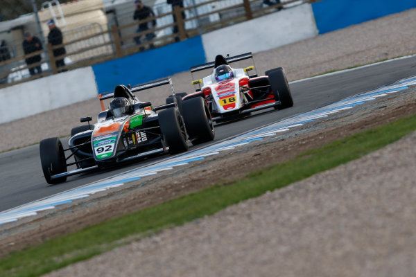 2017 British Formula 4 Championship, Donington Park, April 15th-16th 2017, Daniel Cao (CHN) Double R Racing British F4 World Copyright. JEP/LAT Images