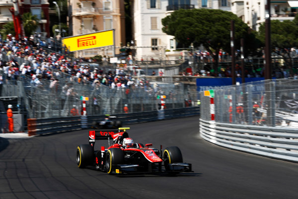 2017 FIA Formula 2 Round 3. Monte Carlo, Monaco. Saturday 27 May 2017. Alexander Albon (THA, ART Grand Prix)  Photo: Zak Mauger/FIA Formula 2. ref: Digital Image _X4I9568