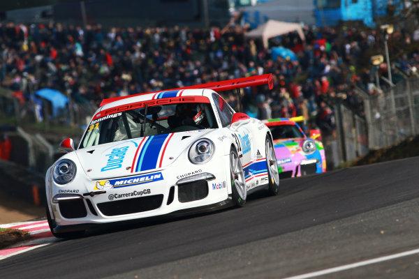 2017 Porsche Carrera Cup GB Brands Hatch, 1st-2nd April 2017 Jennings  World Copyright. JEP/LAT Images