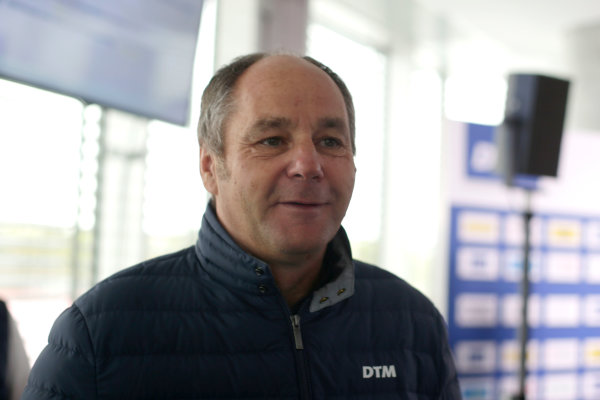 2017 DTM Testing & Media Day Hockenheim, Germany. Thursday 6 April 2017. Gerhard Berger, ITR Chairman. World Copyright: Alexander Trienitz/LAT Images ref: Digital Image 2017-DTM-MD-HH-AT1-0170