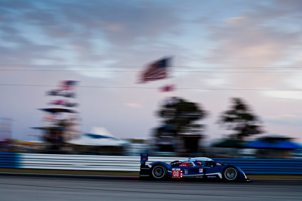 Sebring 12 Hours, Florida. 17th - 20th March 2010.  Pedro Lamy / Sebastien Bourdais / Nicolas Minassian, (Team Peugeot, Peugeot 908 HDI FAP).  Action.  World Copyright: Drew Gibson/LAT Photographic. ref: Digital Image _Y8P3858