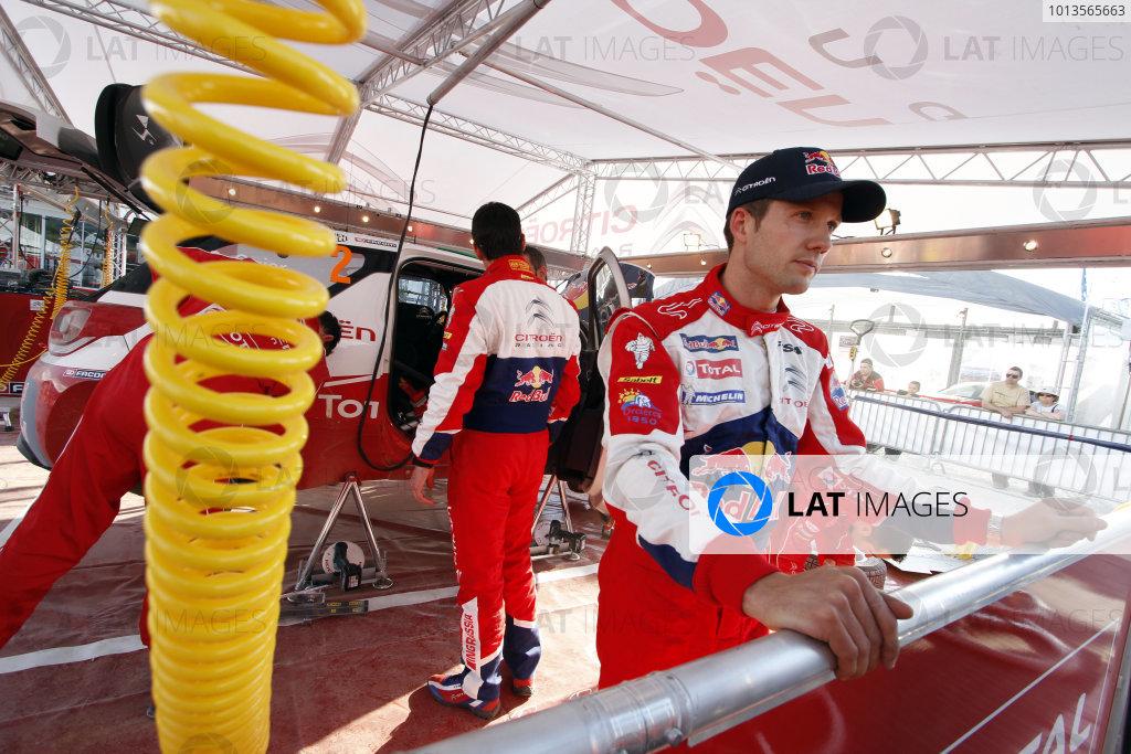 Round 03-Rally Portugal. 23th-27th March 2011.Sebastien Ogier, Citroen WRC, Portrait.Worldwide Copyright: McKlein/LAT