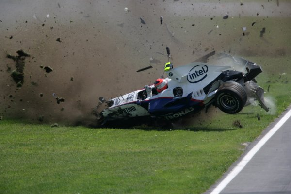 2007 Canadian Grand Prix - Sunday RaceMontreal, Canada.10th June 2007.Robert Kubica, BMW Sauber F1