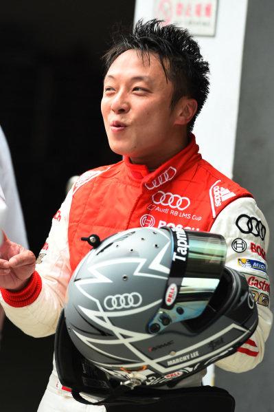Ernst Moser (D) Team Principal Phoenix Racing Team  at Audi R8 LMS Cup, Zhuhai, China, 21  March 2015.