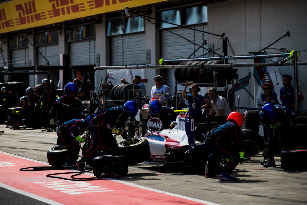 2017 FIA Formula 2 Round 5. Red Bull Ring, Spielberg, Austria. Saturday 8 July 2017. Raffaele Marciello (ITA, Trident).  Photo: Zak Mauger/FIA Formula 2. ref: Digital Image _56I2943