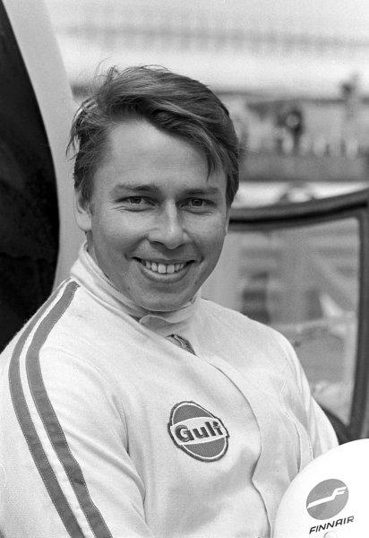 1970 BOAC Brands Hatch 1000 Kms. Brands Hatch, England. 12th April 1970. Leo Kinnunen (Porsche 917K), 1st position, portrait. World Copyright: Phipps / LAT Images.