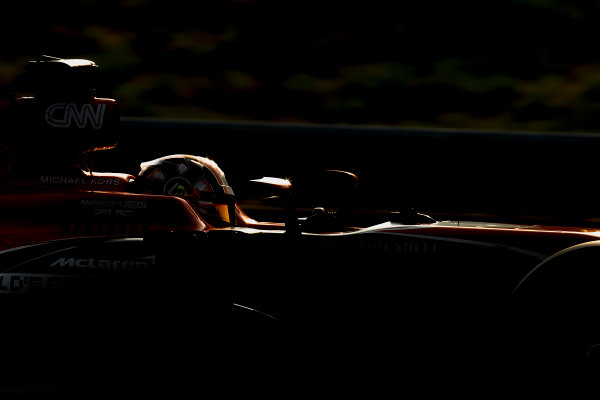 Hungaroring, Budapest, Hungary. Wednesday 2 August 2017. Lando Norris, McLaren MCL32 Honda. World Copyright: Zak Mauger/LAT Images ref: Digital Image _56I9893