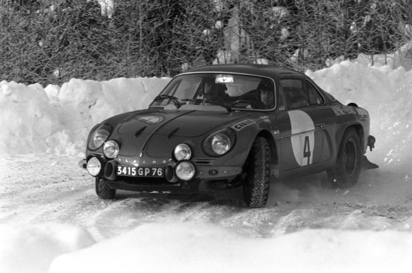 Jorma Lusenius / Seppo Halme, Alpine A110.