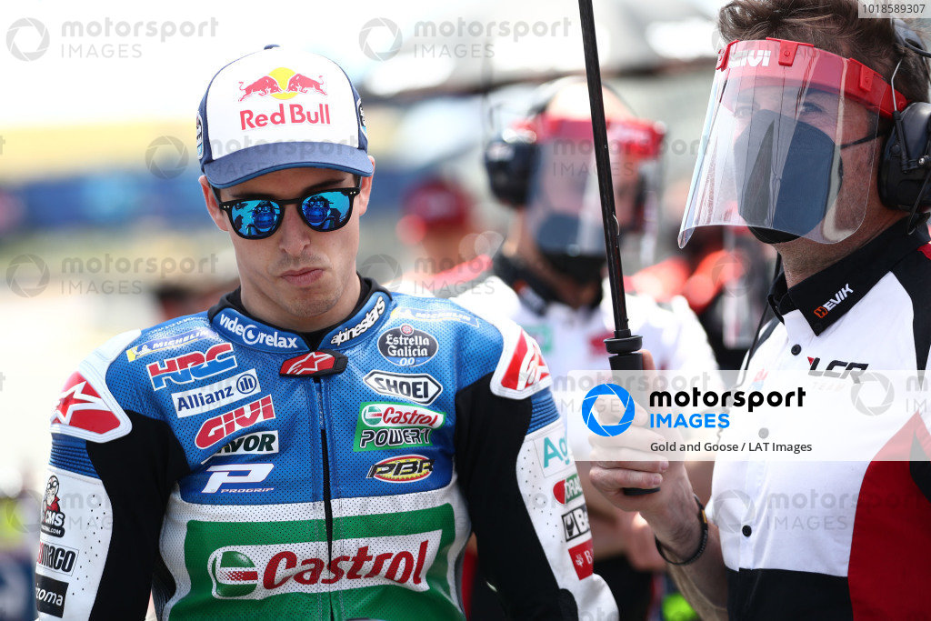Alex Marquez, Team LCR Honda.