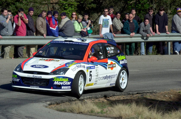2002 World Rally ChampionshipRally Catalunya, 21st-24th March 2002.Colin McRae during shakedown.Photo: Ralph Hardwick/LAT