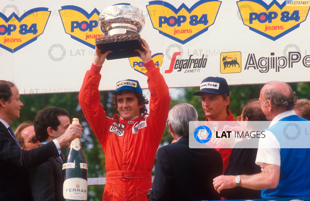 1984 San Marino Grand Prix.