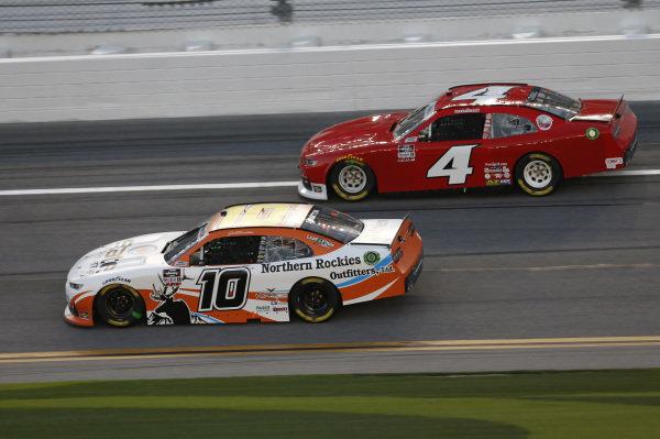 #10: Jeb Burton, Kaulig Racing, Chevrolet Camaro Nutrien Ag Solutions, #4: Landon Cassill, JD Motorsports, Chevrolet Camaro Blue Emu