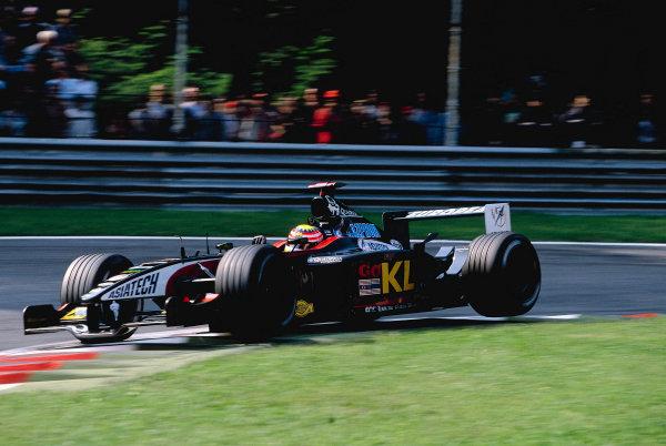 2002 Italian Grand PrixMonza, Italy. 14th - 16th September 2002Alex Yoong, KL Minardi Asiatech PS02World Copyright - LAT Photographicref: 35mm Transparency 02_ITA_16