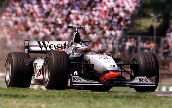 1998 San Marino Grand Prix.Imola, Italy.24-26 April 1998.Mika Hakkinen (McLaren MP4/13 Mercedes-Benz).World Copyright - LAT Photographic