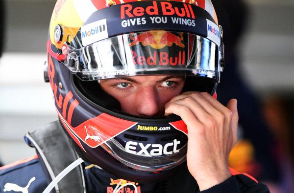 Max Verstappen (NED) Red Bull Racing at Formula One World Championship, Rd9, Austrian Grand Prix, Qualifying, Spielberg, Austria, Saturday 8 July 2017.