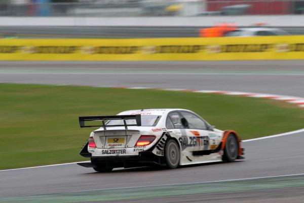 Gary Paffett (GBR), Salzgitter AMG Mercedes, Salzgitter AMG Mercedes C-Klasse (2009).DTM, Rd10, Adria International Raceway, Italy. 29-31 October 2010 World Copyright: LAT Photographicref: dne1031oc138