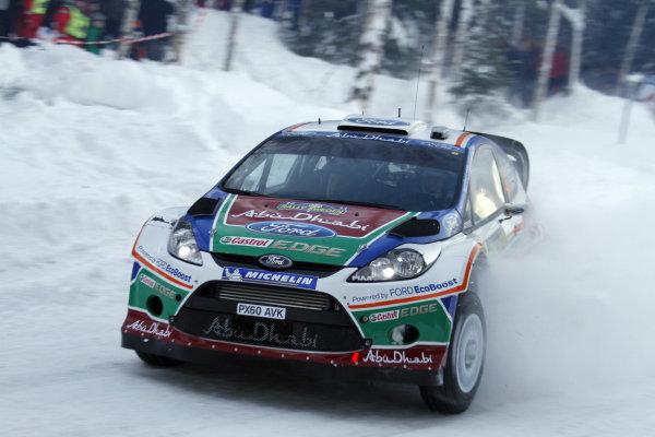 Round 01-Rally Sweden. 10th-13th February 2011.Jari-Matti Latvala, Ford WRC, Action.Worldwide Copyright: McKlein/LAT