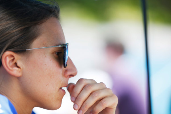 2015/2016 FIA Formula E Championship. Putrajaya ePrix, Putrajaya, Malaysia. Friday 6 November 2015. Simona De Silvestro (SUI), Andretti - Spark SRT_01E. Photo: Zak Mauger/LAT/Formula E ref: Digital Image _L0U9970
