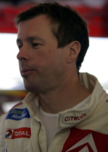 2003 FIA World Rally Champs. Round Ten Telstra Rally Australia 4th-7th September 2003.Colin McRae, Citroen, portrait. World Copyright: McKlein/LAT