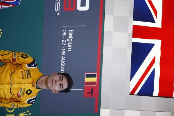 2016 GP3 Series Round 6.  Spa-Francorchamps, Spa, Belgium. Sunday 28 August 2016. Jack Aitken (GBR, Arden International)  Photo: Zak Mauger/GP3 Series Media Service. ref: Digital Image _L0U1752