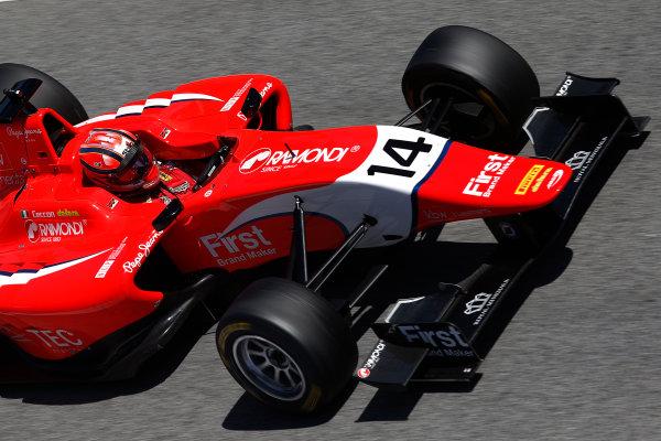 2015 GP3 Series Test 3 - Circuit de Catalunya, Barcelona, Spain. Thursday 23 April 2015. Kevin Ceccon (ITA, Arden International)  Photo: Sam Bloxham/GP3 Series Media Service. ref: Digital Image _SBL1805