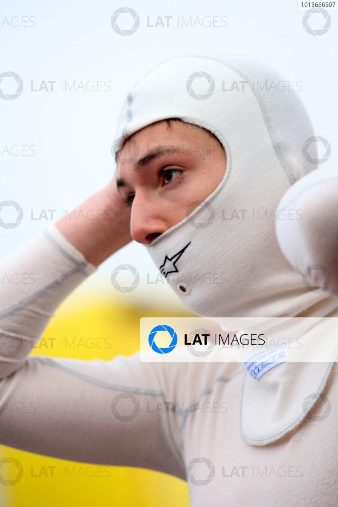Rockingham, Northamptonshire. 17th - 18th September 2011.Alex Lynn (GBR) Fortec Motorsport Formula Renault.World Copyright: Ebrey/LAT Photographic.