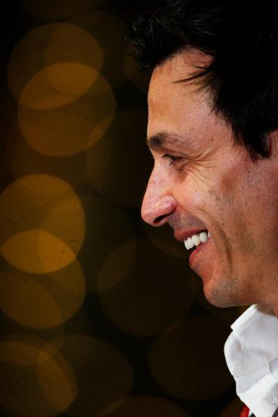 Bahrain International Circuit, Sakhir, Bahrain. Saturday 2 April 2016. Toto Wolff, Executive Director (Business), Mercedes AMG. World Copyright: Sam Bloxham/LAT Photographic ref: Digital Image _L4R8805