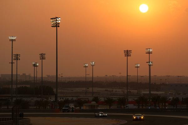 2015 FIA World Endurance Championship, Bahrain International Circuit, Bahrain. 19th - 21st November 2015. Francois Perrodo / Emmanuel Collard / Matteo Cressoni AF Corse Ferrari F458 Italia. World Copyright: Jakob Ebrey / LAT Photographic.