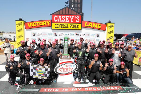 17-19 June, 2016, Newton, Iowa USA Sam Hornish Jr, Toyota Camry, victory lane ?2016, Lesley Ann Miller LAT Photo USA
