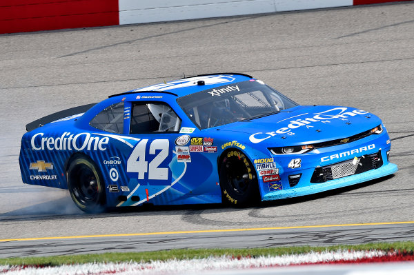 NASCAR Xfinity Series ToyotaCare 250 Richmond International Raceway, Richmond, VA USA Saturday 29 April 2017 KYLE LARSON World Copyright: Rusty Jarrett LAT Images ref: Digital Image 17RIC1rj_3846