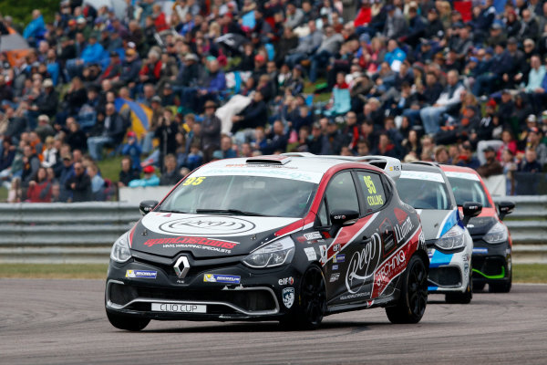 2017 Renault Clio Cup Thruxton, 6th-7th May 2017,  Myles Collins (GBR) Westbourne Motorsport Renault Clio Cup World copyright. JEP/LAT Images