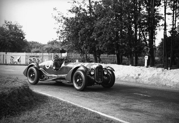 Le Mans, France. 18th June 1939.Lord Selsdon/Lord Waleran (Lagonda V12), 4th position, action.World Copyright: LAT Photographic.Ref: L164 - 13A.