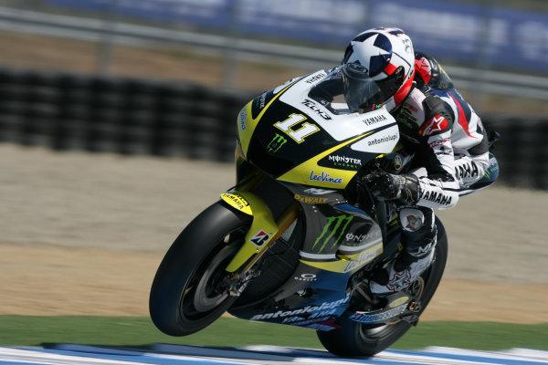 USA Laguna Seca 23-25 July 2010Ben Spies Monster Yamaha Tech 3