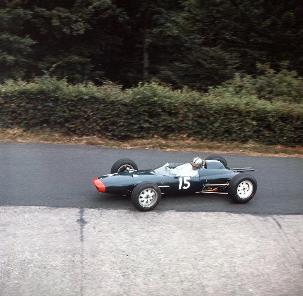 Nurburgring, Germany.3-5 August 1962.Roy Salvadori (Lola Mk4 Climax).Ref-3/0636.World Copyright - LAT Photographic