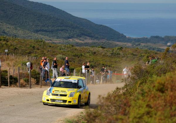 Round 12, Rally of France, Tour de Corse7th - 10th October 2008Jaan Molder, Suzuki, actionWorldwide Copyright: McKlein/LAT