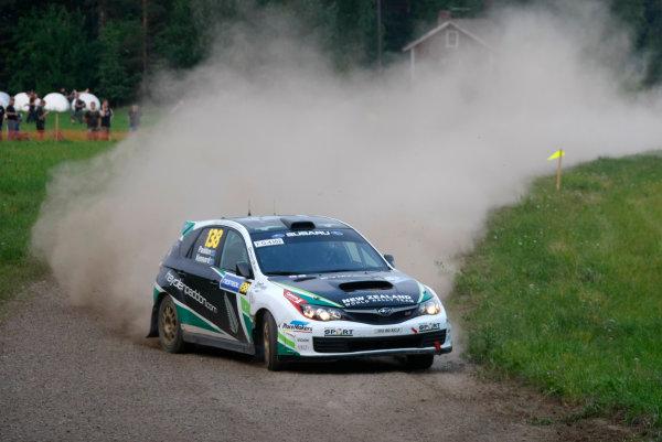 Round 8, Rally Finland, 28th - 30th July 2011Hayden Paddon, Subaru, ActionWorldwide Copyright: LAT/McKlein
