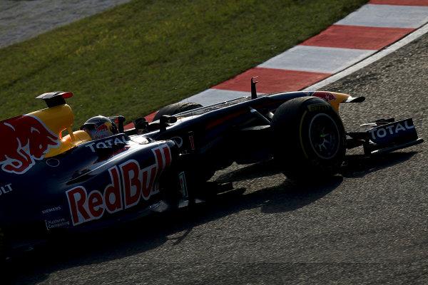 Suzuka Circuit, Suzuka, Japan.7th October 2011.Sebastian Vettel, Red Bull Racing RB7 Renault. Action. World Copyright: Glenn Dunbar/LAT Photographicref: Digital Image IMG_2608