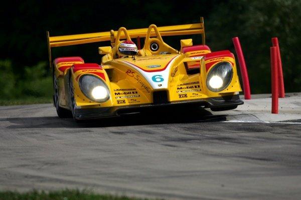 Ryan Briscoe (AUS) Penske Motorsports Porsche RS Spyder.American Le Mans Series, Rd6, Lime Rock Park, USA, 7 July 2007.