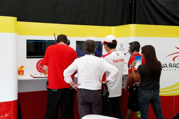Buenos Aires e-Prix Race. Team China Garage. FIA Formula E World Championship. Buenos Aires, Argentina, South America. Saturday 10 January 2015.  Copyright: Adam Warner / LAT / FE ref: Digital Image _L5R7142