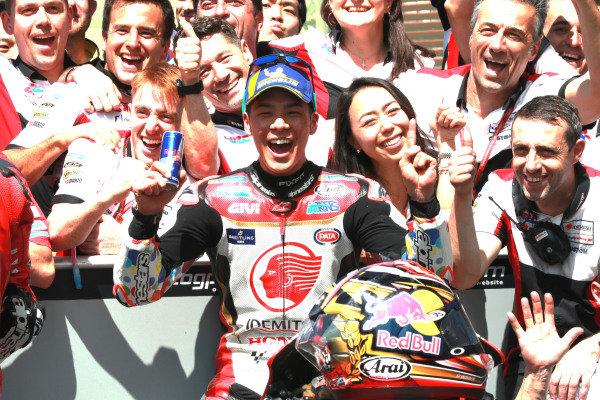 Fifth place Takaaki Nakagami, Team LCR Honda.