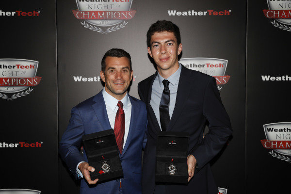 2018 WeatherTech Night of Champions, #48 Paul Miller Racing Lamborghini Huracan GT3, GTD: Madison Snow, Bryan Sellers, Tudor Watches